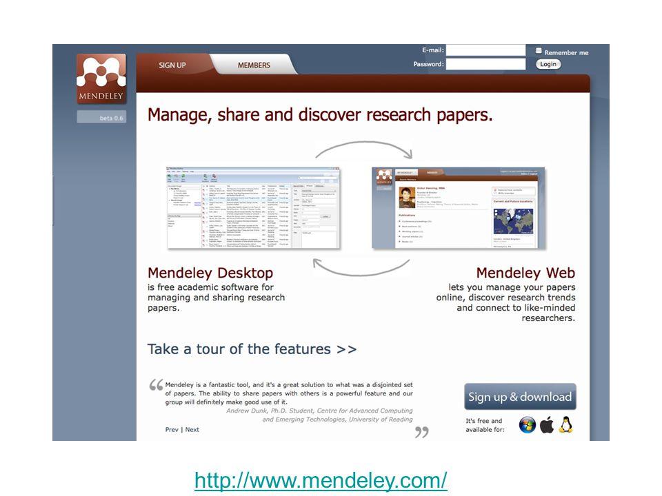 http://www.mendeley.com/