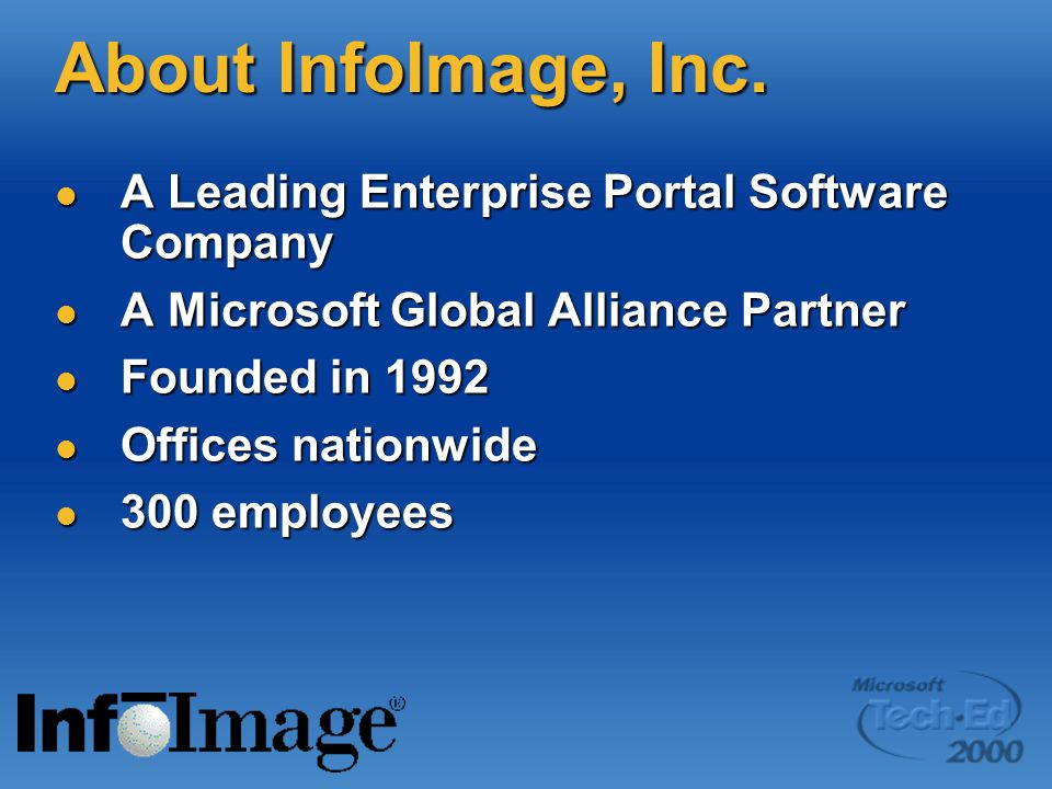 About InfoImage, Inc.