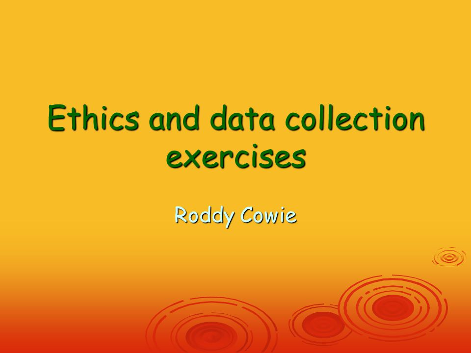 Last word on ethics  A stitch in time saves nine  So long as you get the stitch right