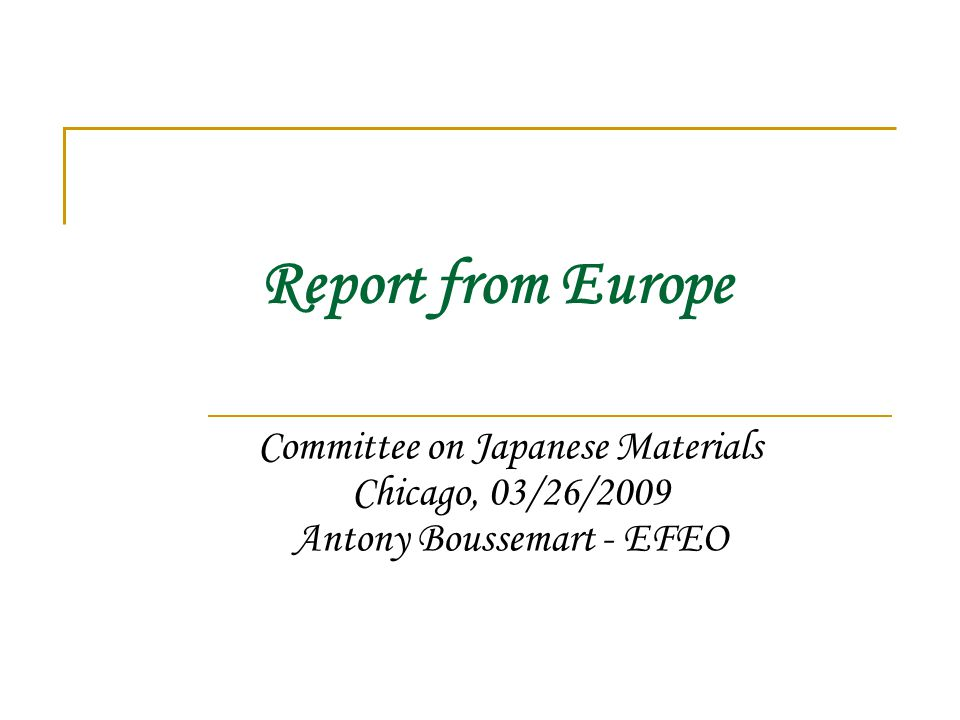 European Consortium for Sustainable Development of Japanese Electronic Resources France :  Bibliothèque nationale de France  Bulac (Leading Institution)  Collège de France  Institut d'Asie Orientale (Institut of East Asian Studies – Lyon)  University of Lyon 3 Great-Britain :  the British Libary  Oxford University  School of Oriental and African Studies  the University of Leeds The Netherlands :  Leiden University