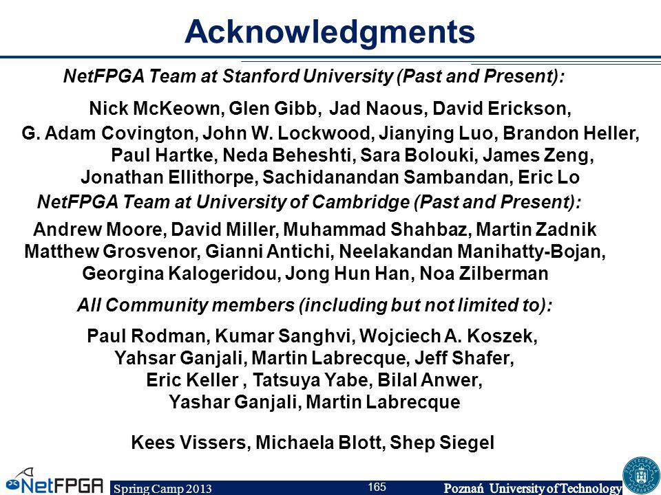 Spring Camp 2013 165 Nick McKeown, Glen Gibb, Jad Naous, David Erickson, G. Adam Covington, John W. Lockwood, Jianying Luo, Brandon Heller, Paul Hartk