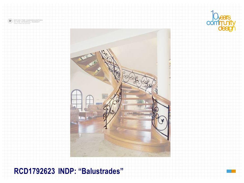 RCD1792623 INDP: Balustrades