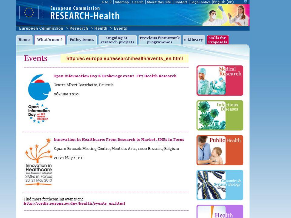 14 http://ec.europa.eu/research/health/events_en.html