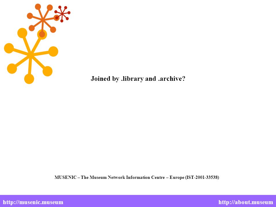 Joined by.library and.archive.