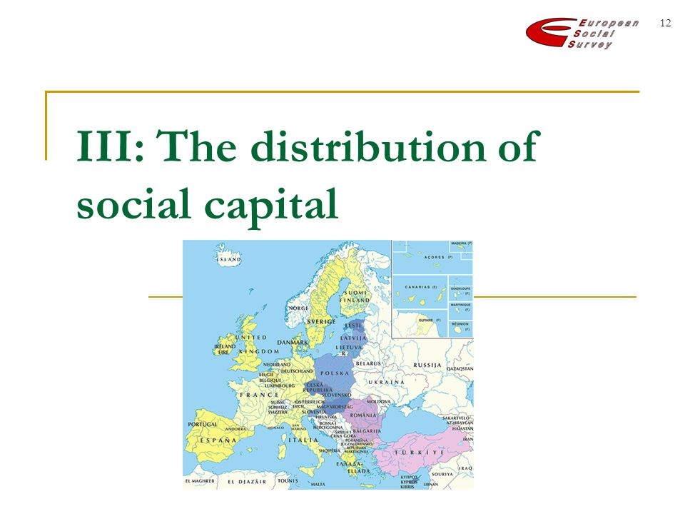 12 III: The distribution of social capital
