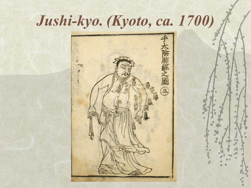 Jushi-kyo. (Kyoto, ca. 1700)