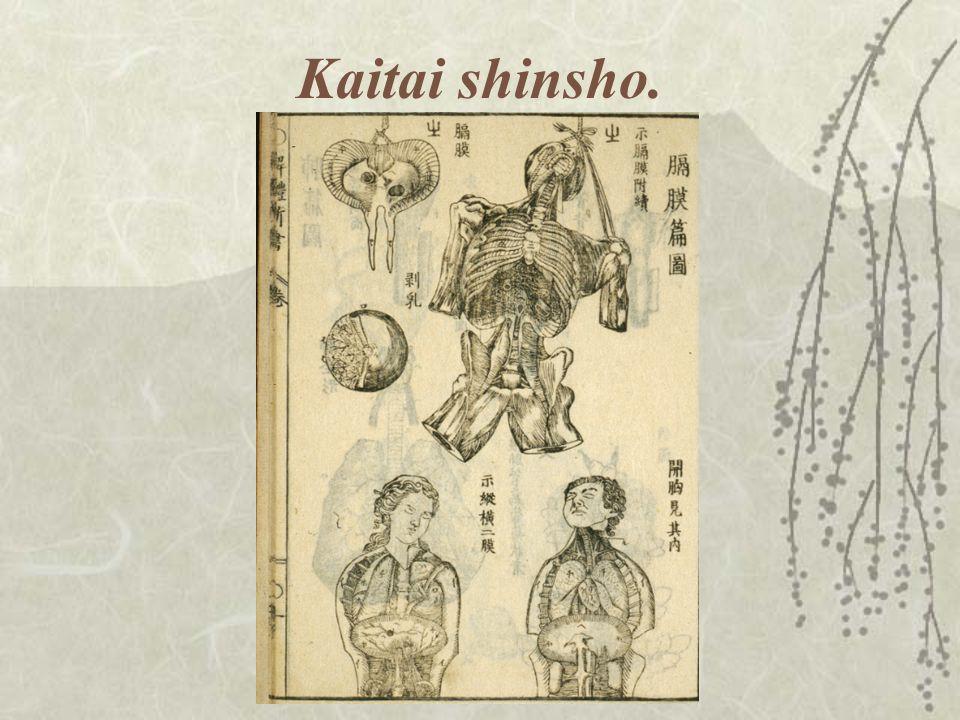 Kaitai shinsho.