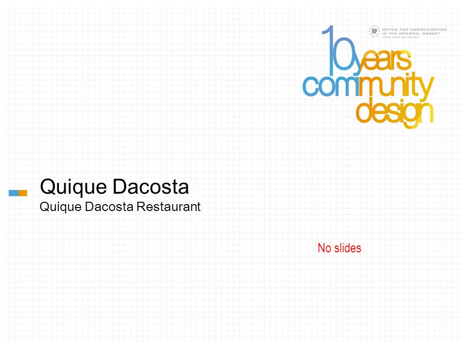 Quique Dacosta Quique Dacosta Restaurant No slides