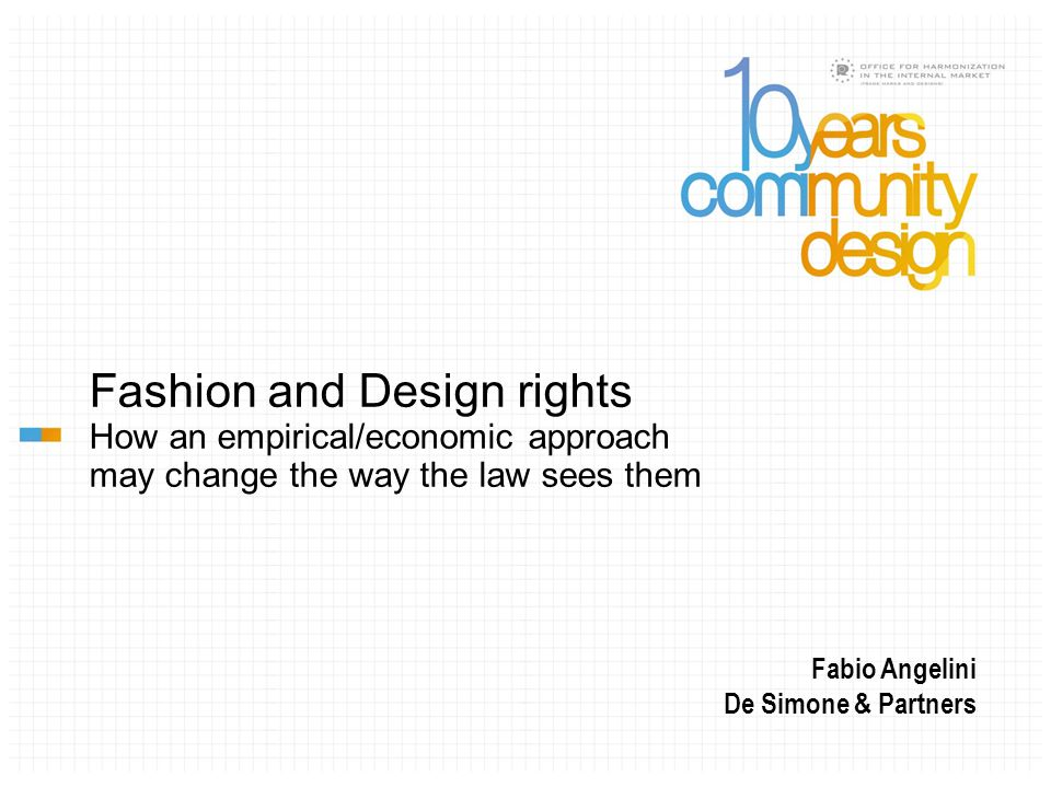 A regime of low IP protection, by permitting extensive and free inspiration , enables emerging trends to develop and diffuse rapidly, and, as a result of the positionality of fashion, to die rapidly.