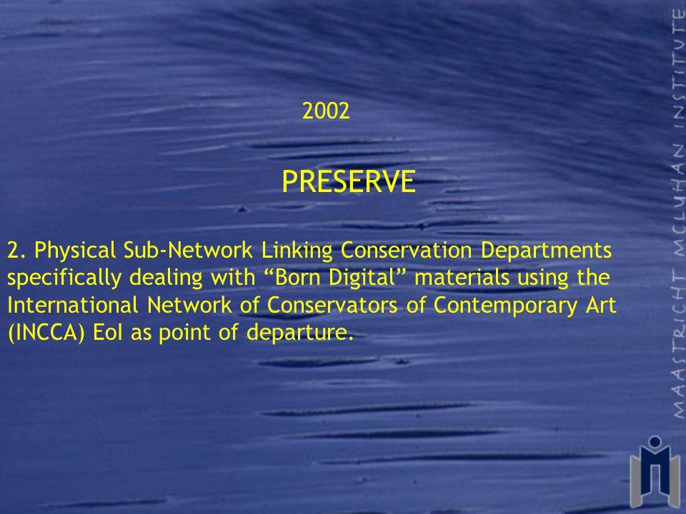 2002 PRESERVE 2.
