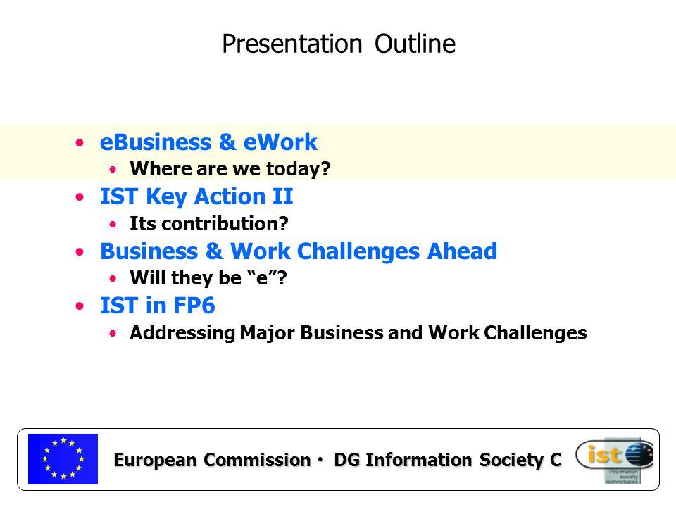European Commission DG Information Society C eEconomy.