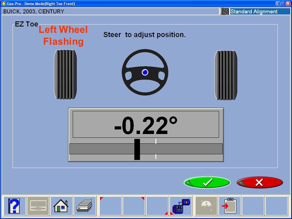 Left Wheel Flashing