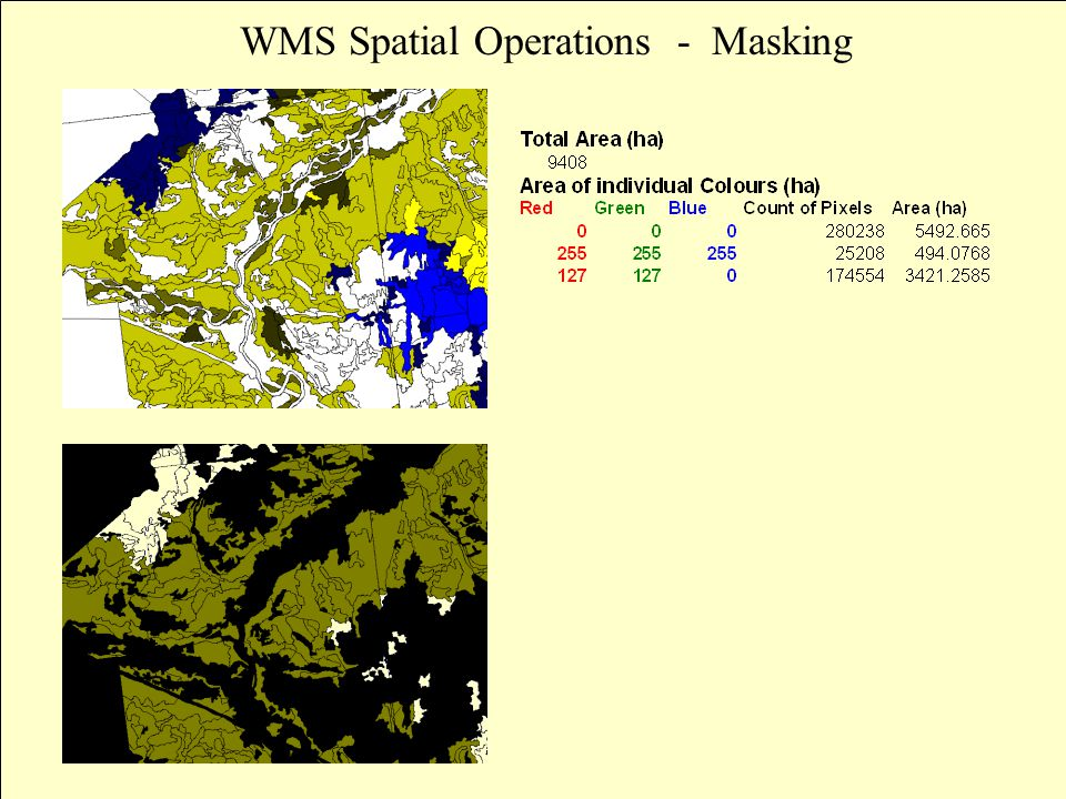 WMS Spatial Operations - Masking