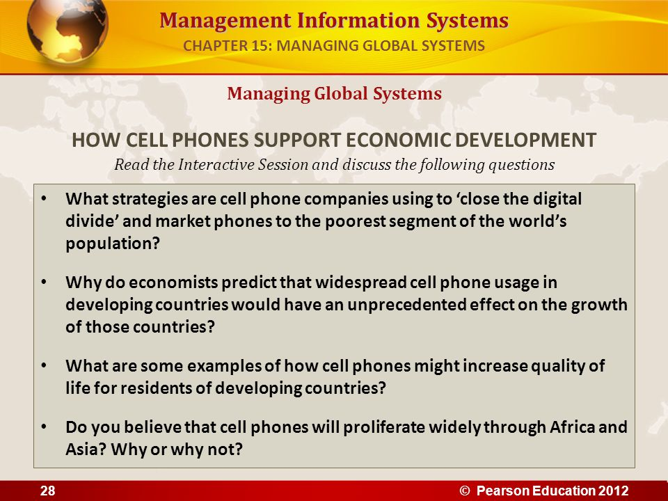 Management Information Systems Read the Interactive Session and discuss the following questions What strategies are cell phone companies using to 'clo
