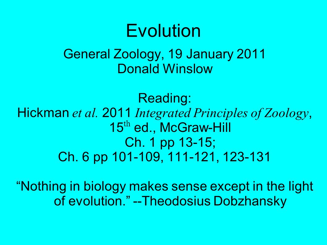 Founders of evolution Lamarck—inheritance of acquired traits Lyell—uniformitarianism & gradualism Malthus—exponential growth & limitation Darwin—natural selection, speciation Wallace—independently developed theory of evolution by natural selection & inspired Darwin to publish.