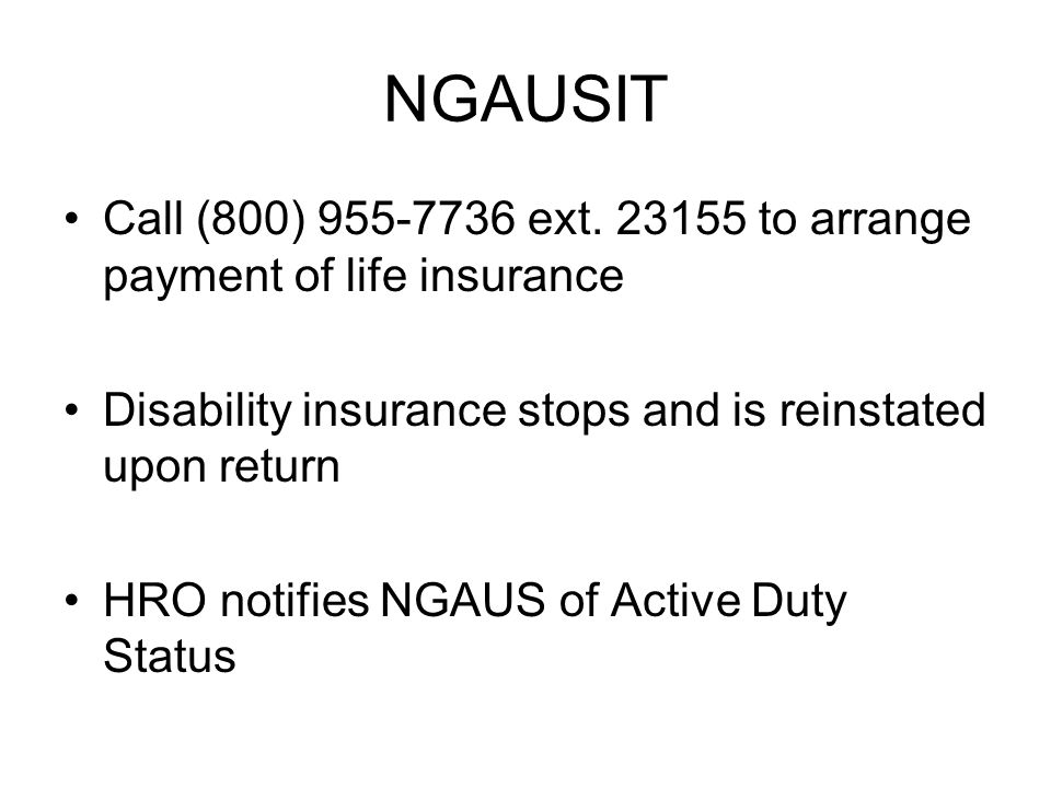 NGAUSIT Call (800) 955-7736 ext.