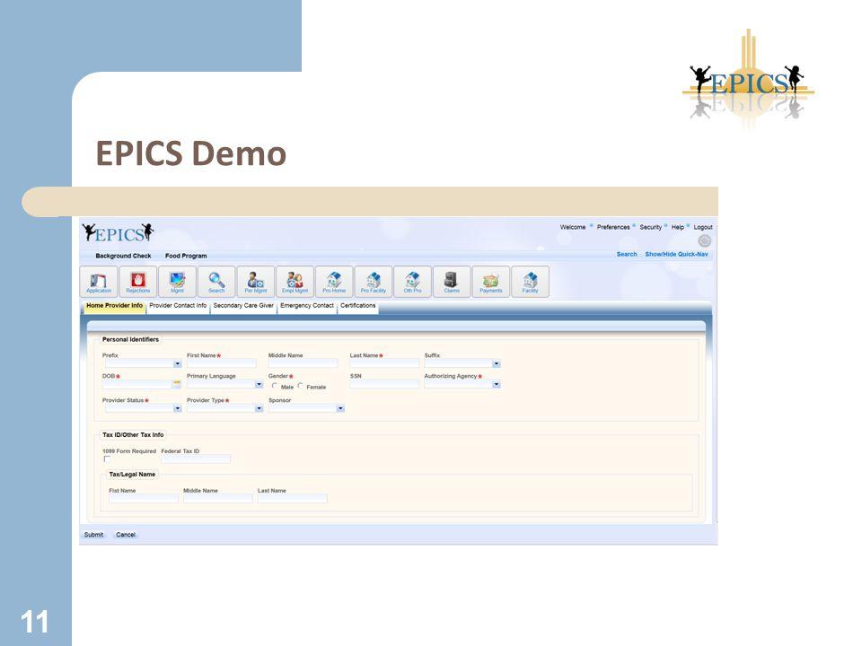 EPICS Demo 11