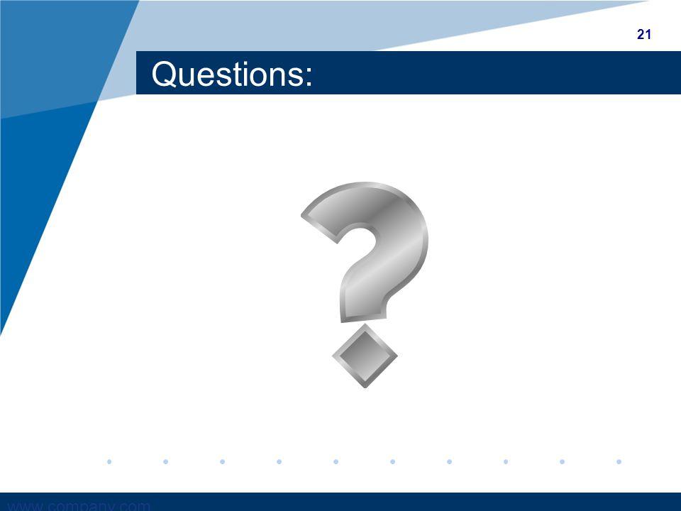 www.company.com Questions: 21