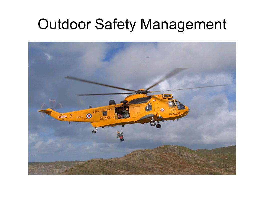 Outdoor Safety Management