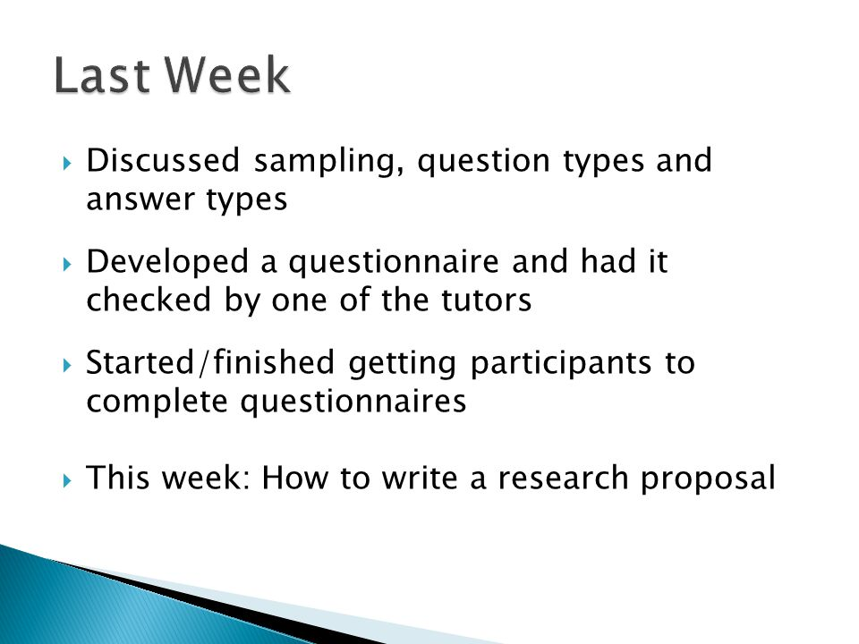  Plagiarism and Collusion  Sections of a Research Proposal: ◦ Title ◦ Introduction ◦ Methods  APA Style Referencing  Data Entry Worksheet