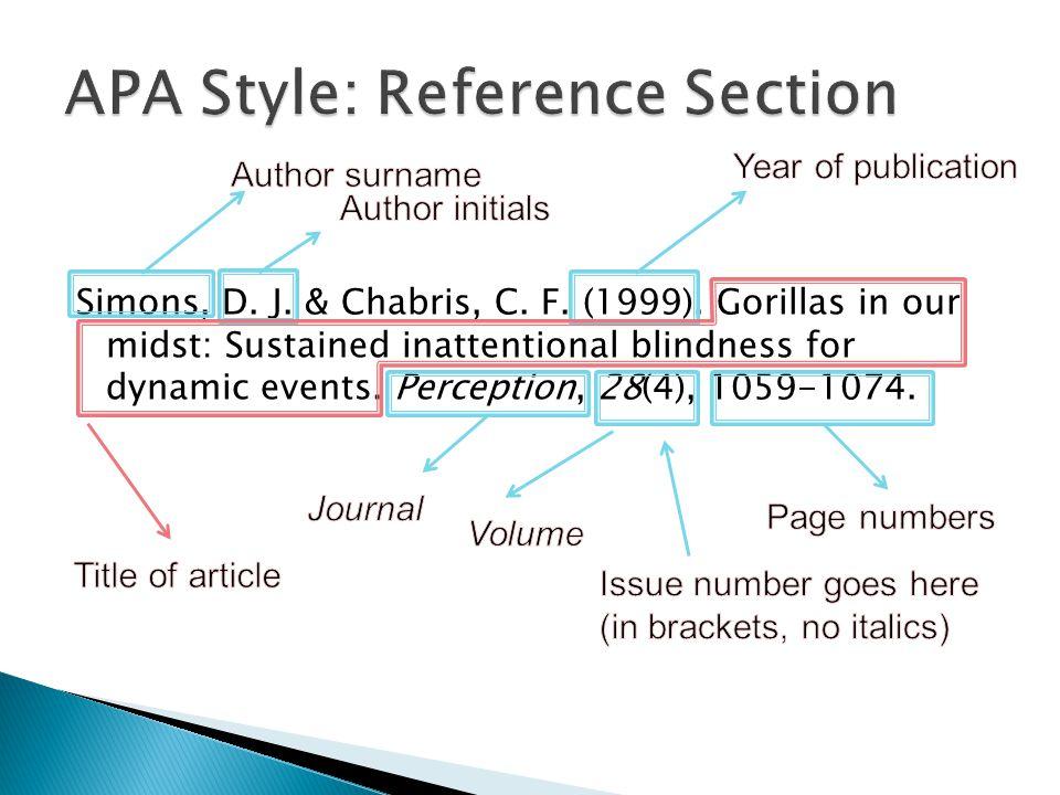 Simons, D. J. & Chabris, C. F. (1999).