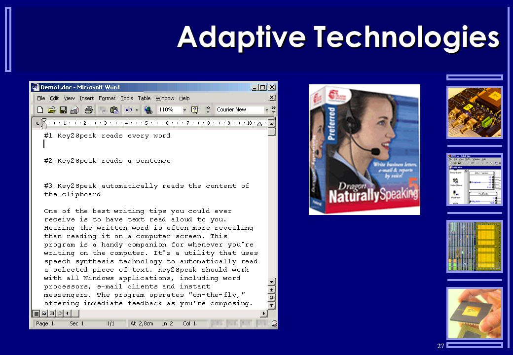 27 Adaptive Technologies