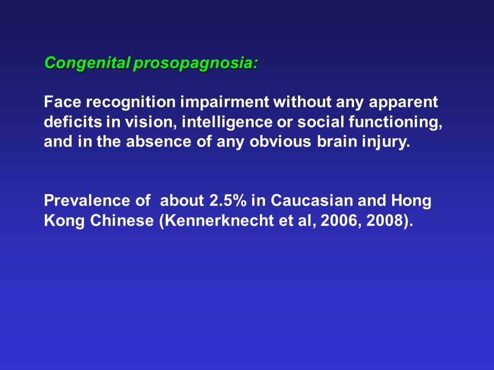 Face-specificity of congenital prosopagnosia: Mixed group.