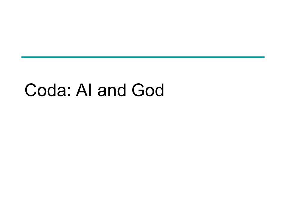 Coda: AI and God