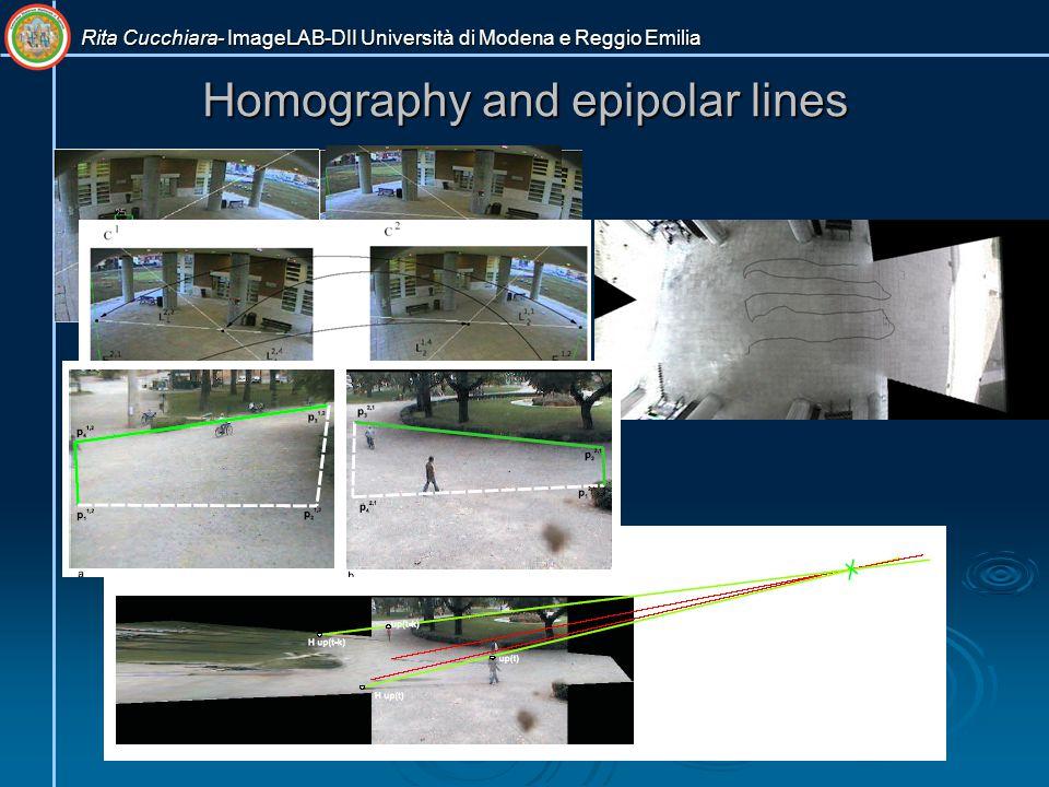 Rita Cucchiara- ImageLAB-DII Università di Modena e Reggio Emilia Homography and epipolar lines