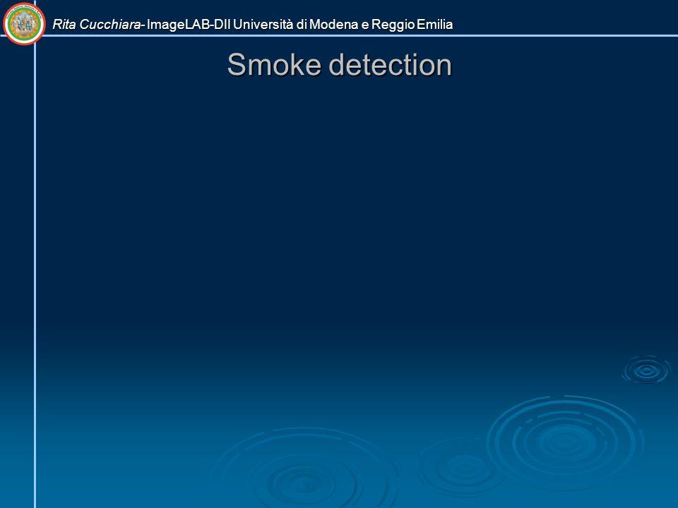 Smoke detection Rita Cucchiara- ImageLAB-DII Università di Modena e Reggio Emilia
