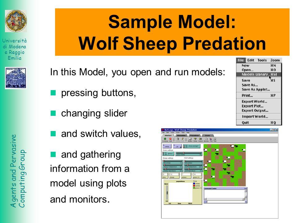 Agents and Pervasive Computing Group Università di Modena e Reggio Emilia HubNet HubNet is a technology that lets you use NetLogo to run participatory simulations in the classroom.