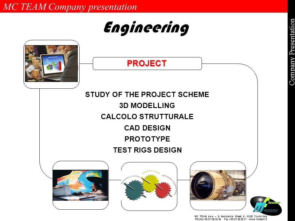 MC TEAM Company presentation Page 9 of 9 Company Presentation MC TEAM s.a.s.