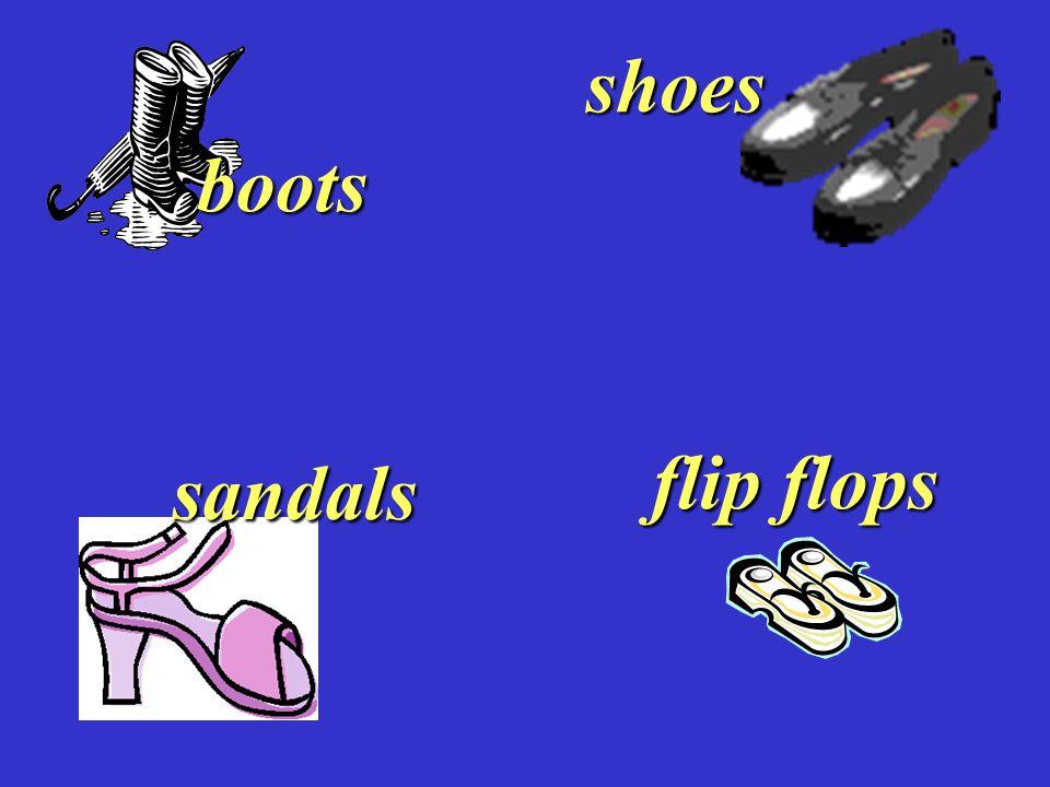 shoes sandals boots flip flops