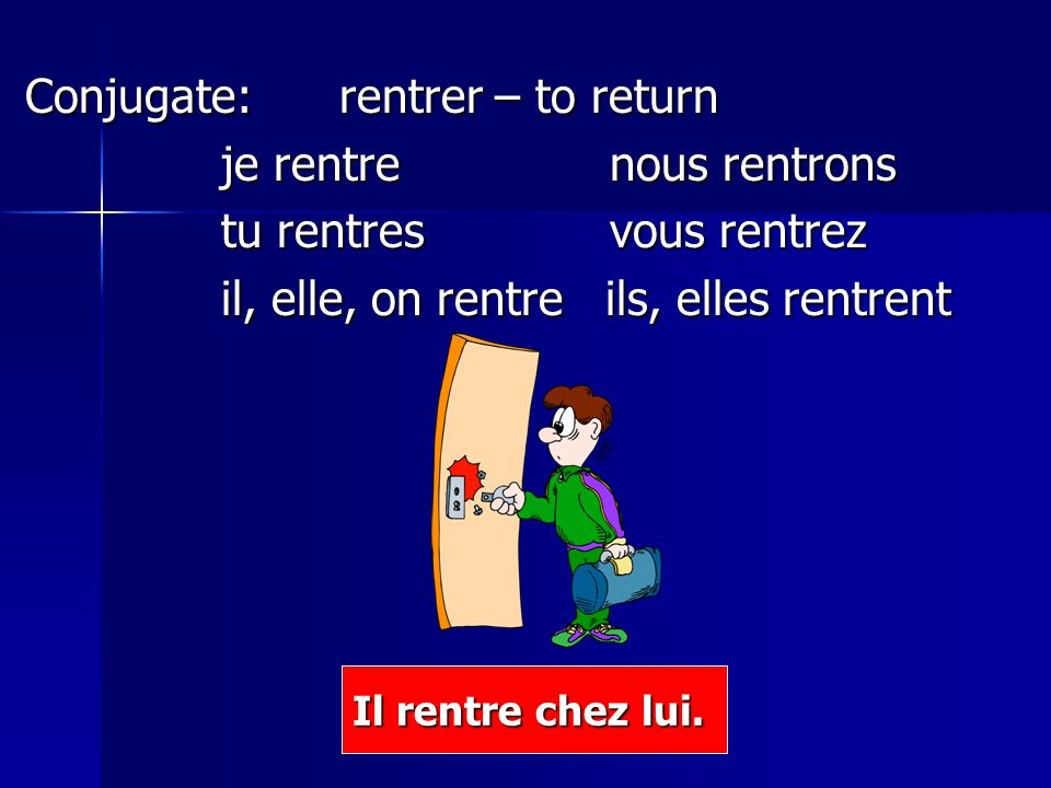 Comment dit-on….I arrive. J'arrive. I am arriving./ I'm arriving.
