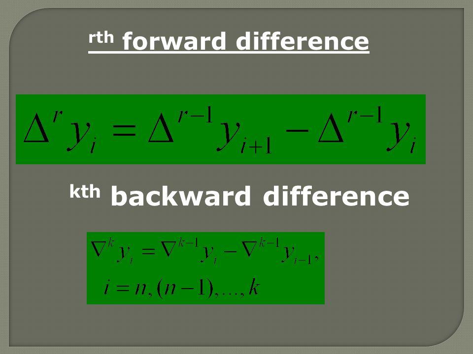 The Lagrange's formula for interpolation
