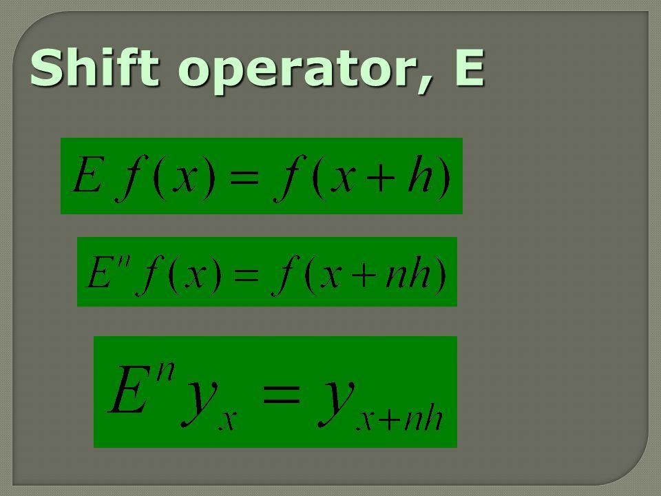 This formula is known as Newton's backward interpolation formula.