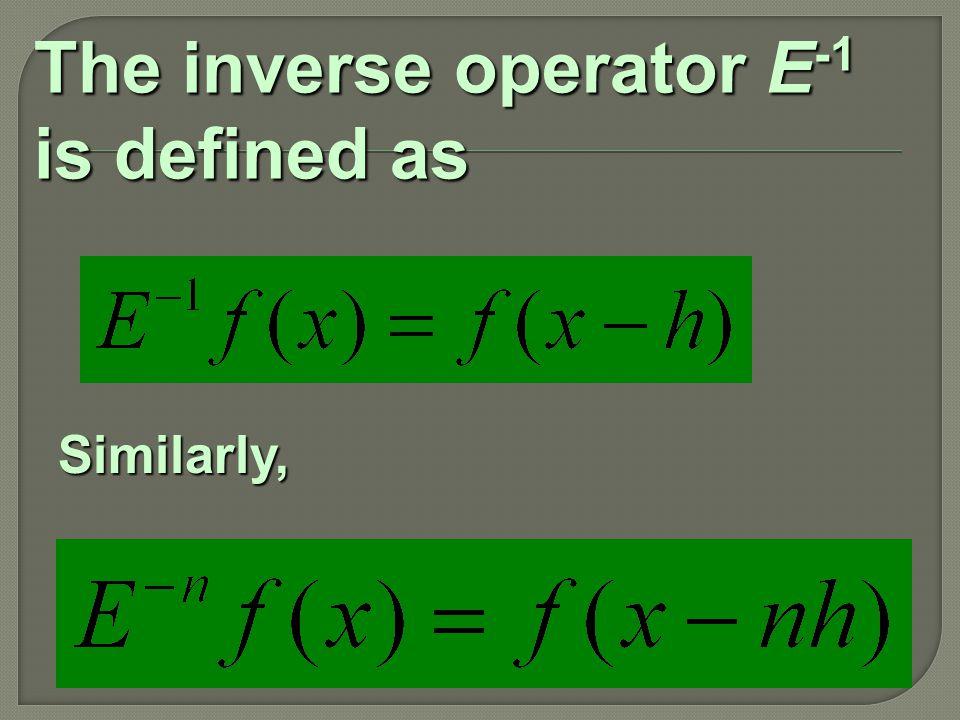 Average Operator,