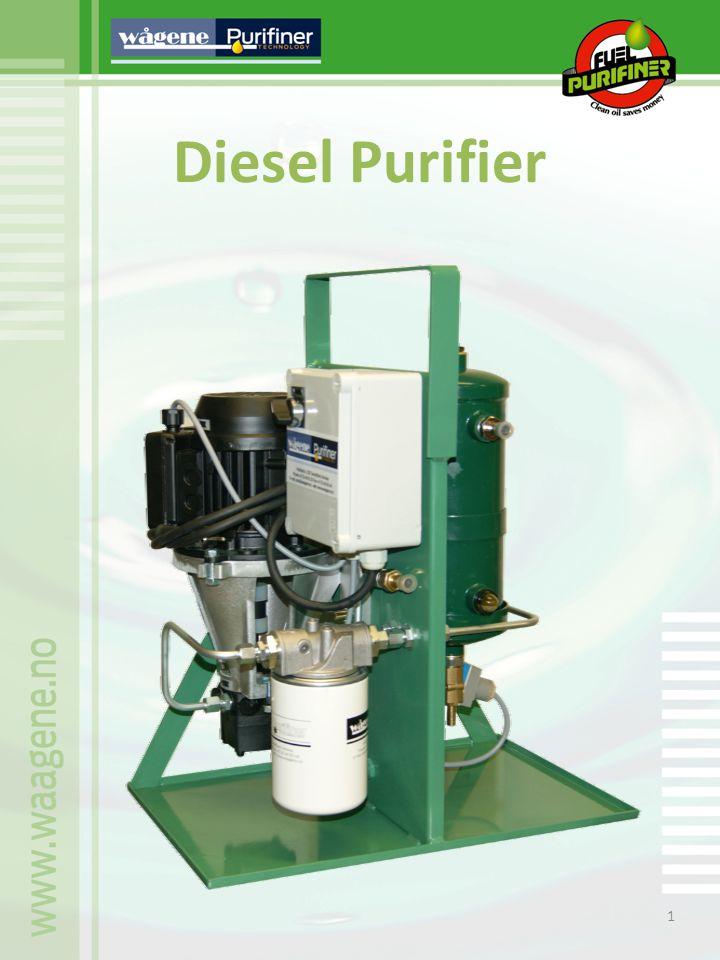 2 Wågene Diesel Purifiner Machine Instructions for type WFP-200 singel diesel purifier.
