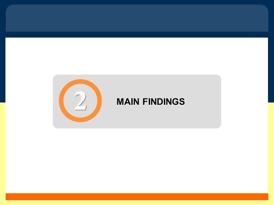 5 MAIN FINDINGS