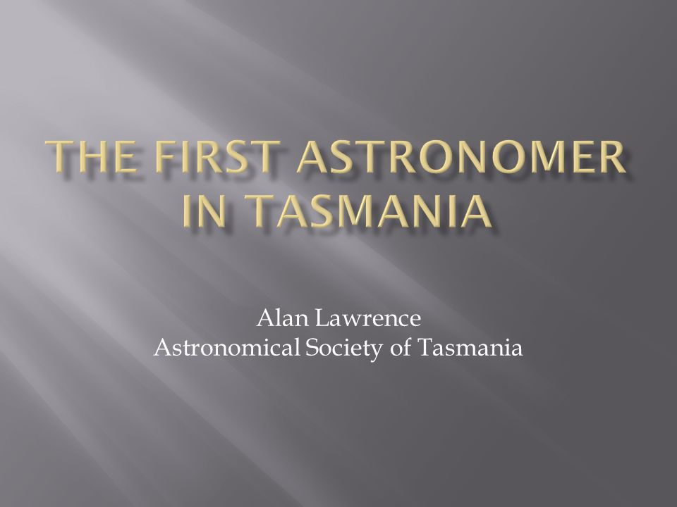 Abbott's observations were detailed showing 75 stars using his 10.4cm,5 foot,f/14.5 refractor.