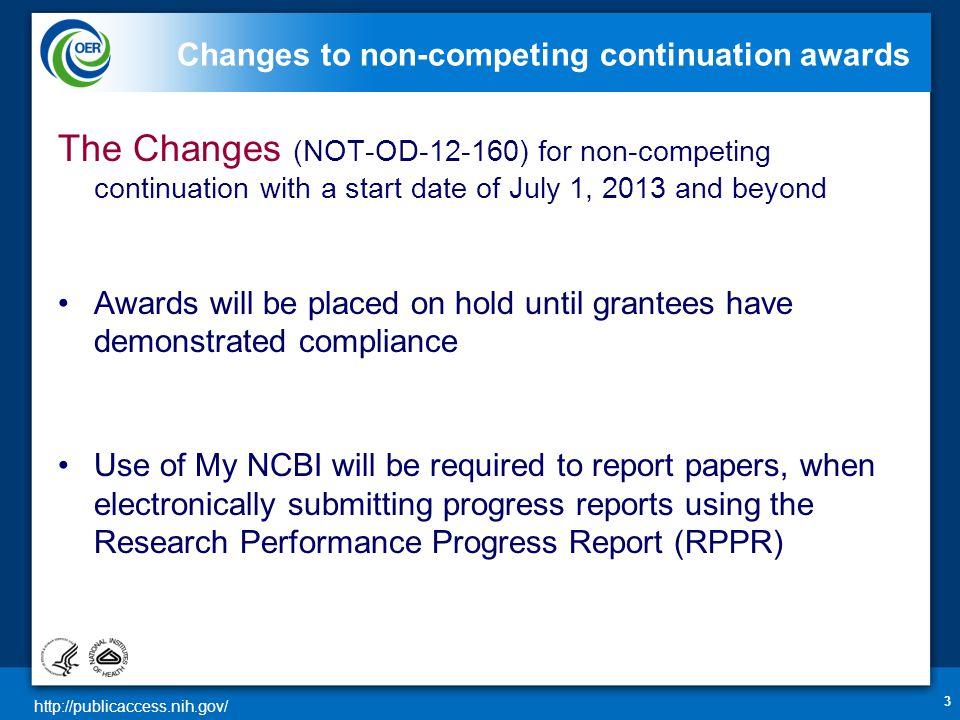 http://publicaccess.nih.gov/ What is My NCBI.