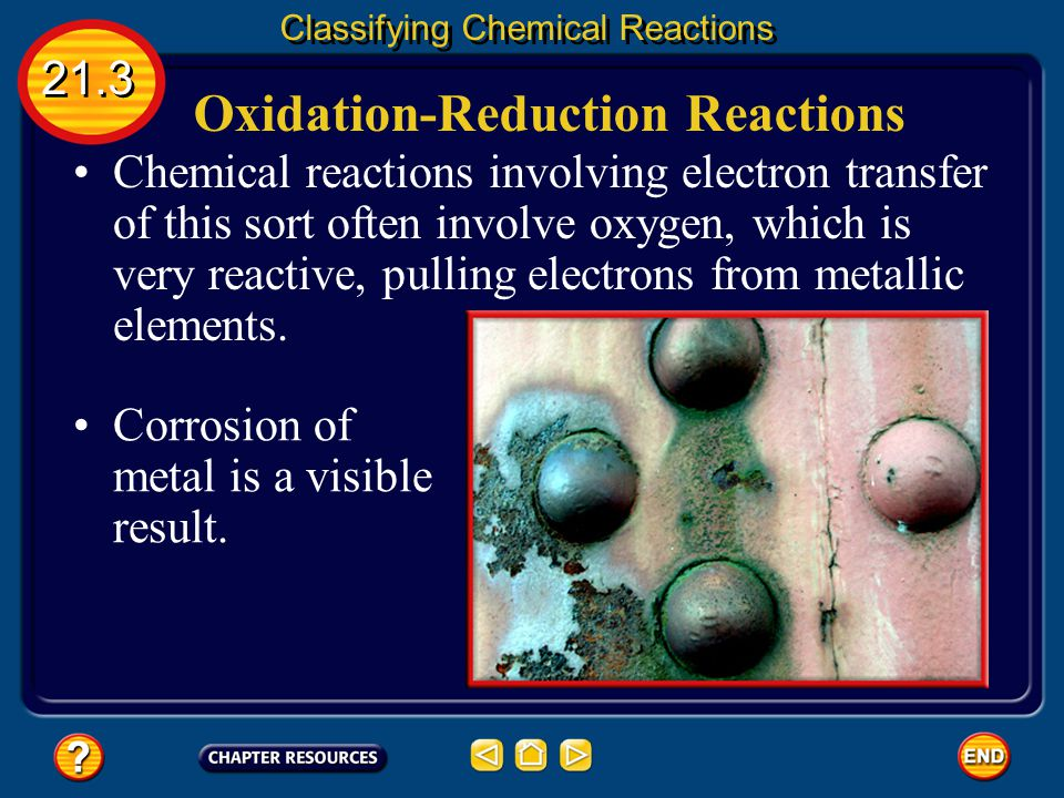 Oxidation-Reduction Reactions One characteristic that is common to many chemical reactions is the tendency of the substances to lose or gain electrons