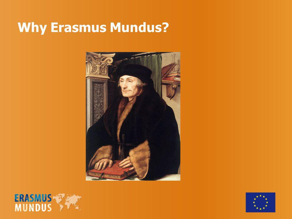 Why Erasmus Mundus