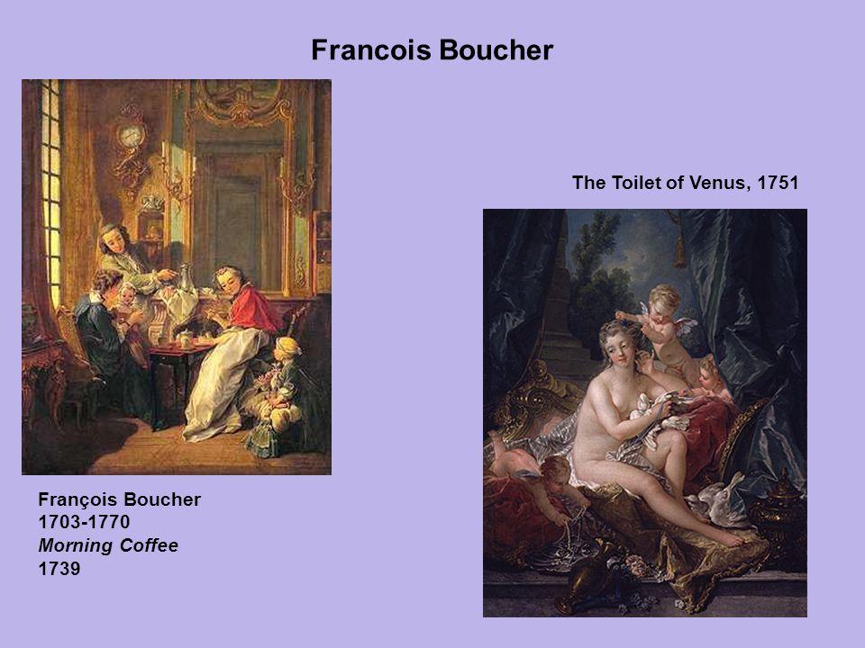 Francois Boucher François Boucher 1703-1770 Morning Coffee 1739 The Toilet of Venus, 1751