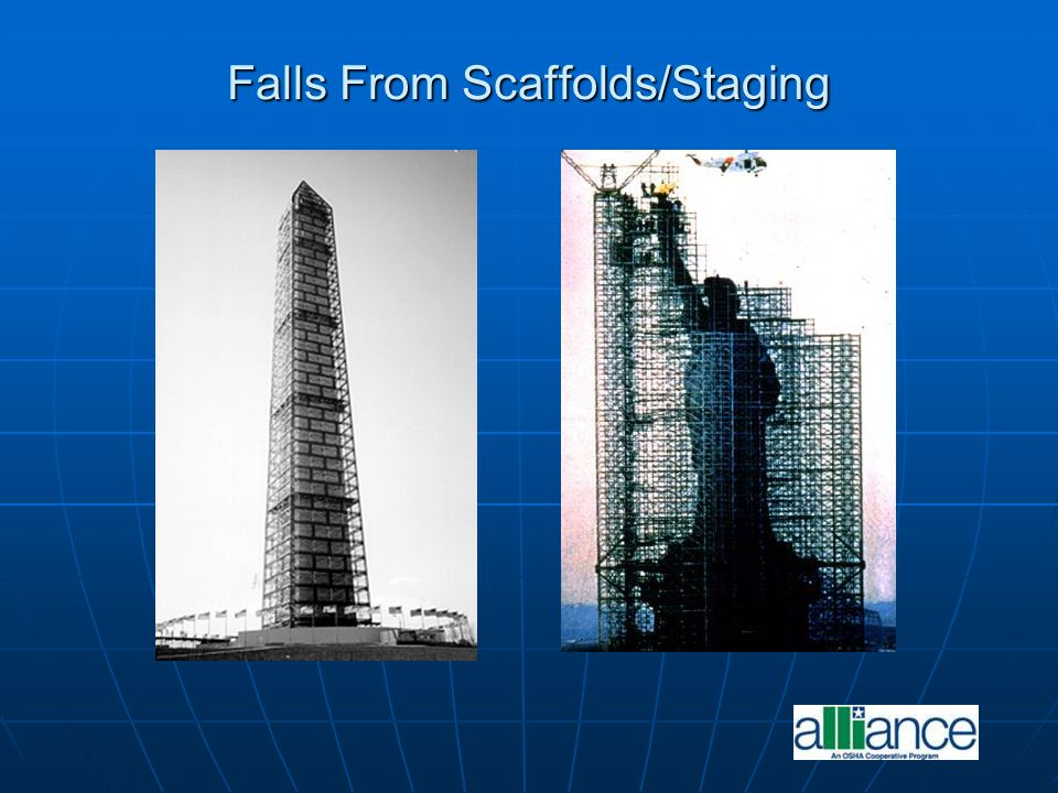 Falls From Scaffolds/Staging