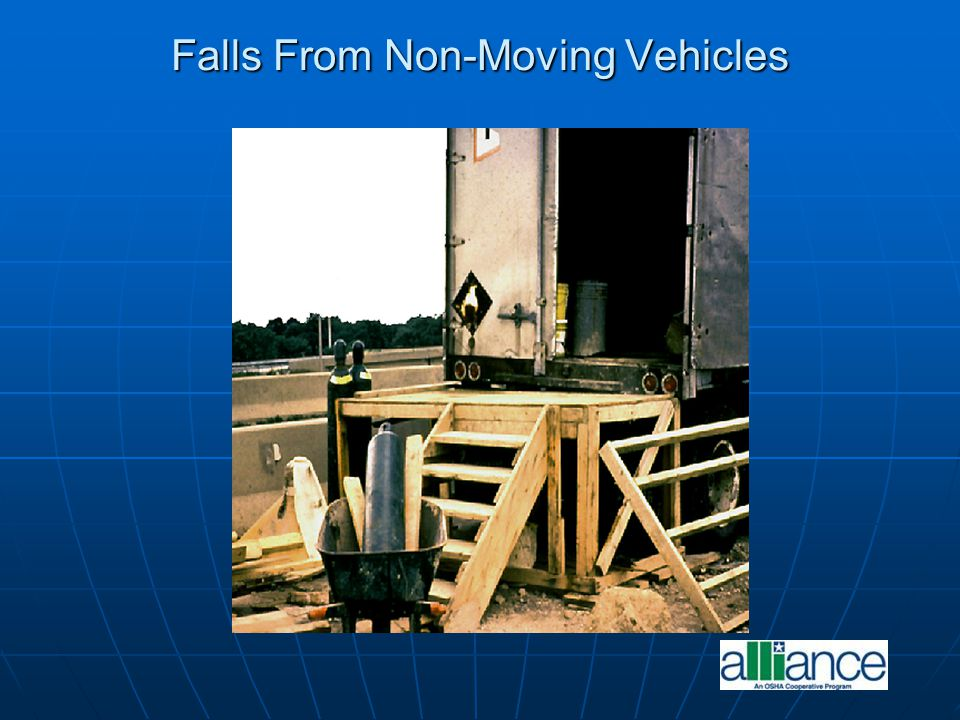 Falls From Non-Moving Vehicles