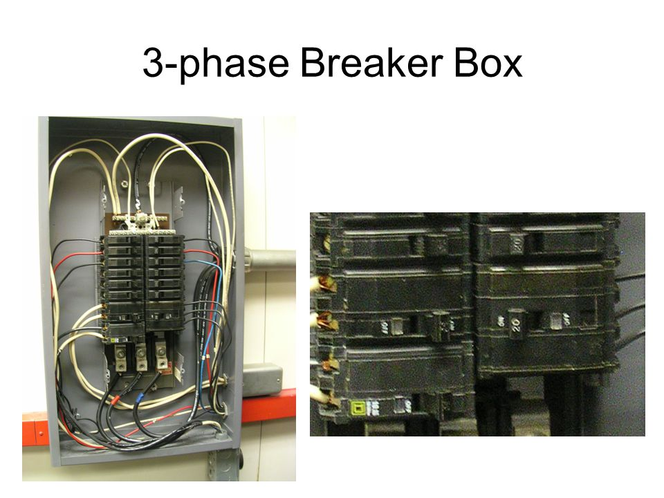 3-phase Breaker Box