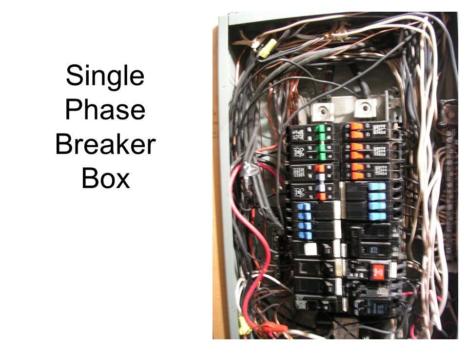 Single Phase Breaker Box