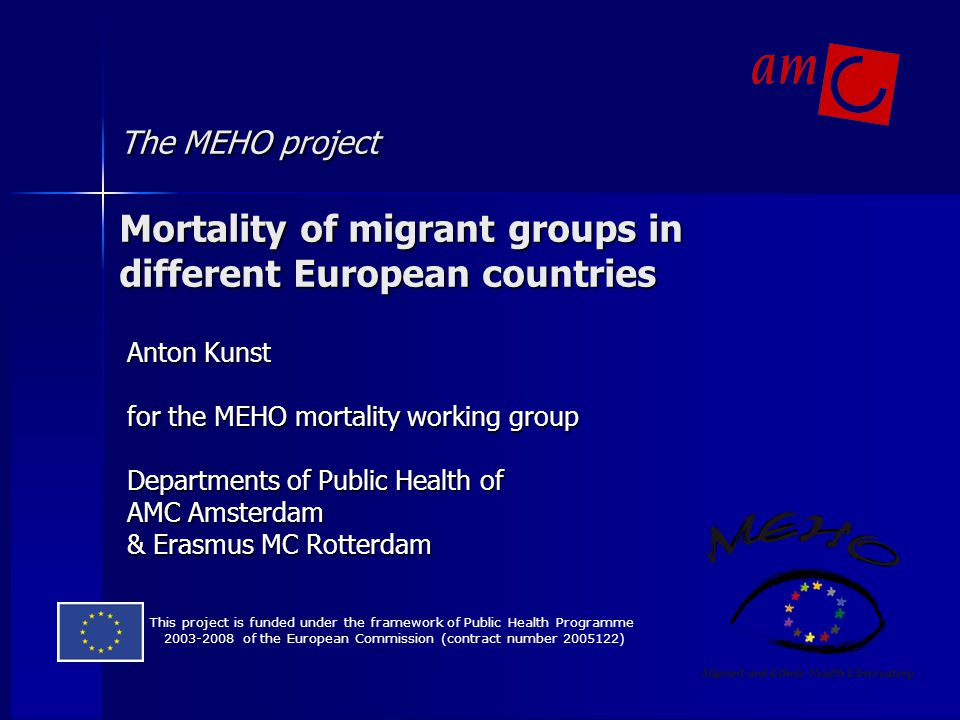 Migrants are usually compared to native populations: headlines of newspapers Young Moroccans have 10 times more risk of schizophrenia More suicide attempts by Turkish and Surinamese Elderly migrants more often depressive
