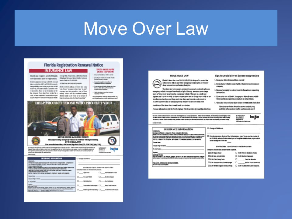 Move Over Law Fallen Officers Struck by Vehicles (National)